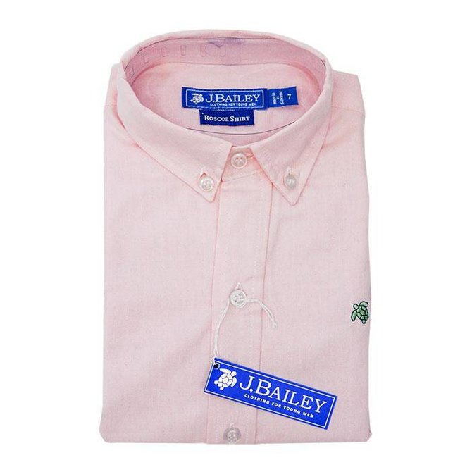 The Bailey Boys J Bailey Pink Oxford Shirt
