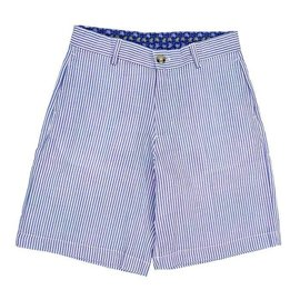The Bailey Boys J Bailey Blue Stripe Seersucker Short