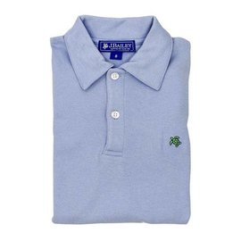The Bailey Boys J Bailey Short Sleeve Polo Light Blue