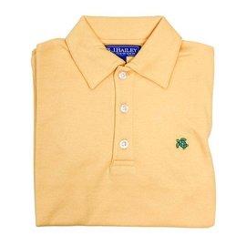 The Bailey Boys J Bailey Short Sleeve Polo Yellow