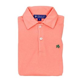 The Bailey Boys J Bailey Short Sleeve Polo Coral Reef