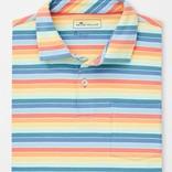 Peter Millar Youth Seaside Wash Stripe Polo