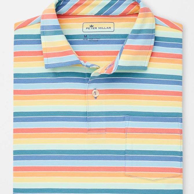 Youth Seaside Wash Stripe Polo
