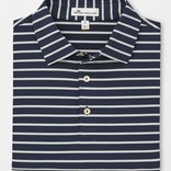 Peter Millar Youth Market Stripe Stretch Jersey Polo