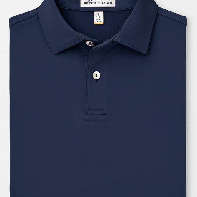 Peter Millar Youth Solid Stretch Jersey Sean
