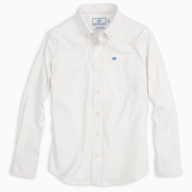 Southern Tide Youth LS Intercoastal Sport Shirt