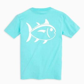 Southern Tide Youth SS Outline Skipjack Tee