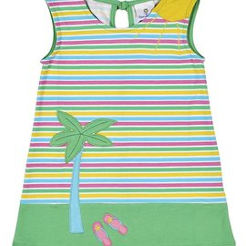 Florence Eiseman Summer Scene Shift Dress