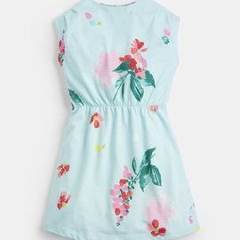 Joules Annabel Jersey Dress Aquafloral