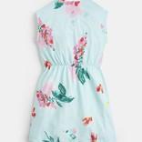 Joules Annabel Jersey Dress Aquafloral