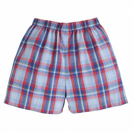 Little English Basic Short - Sea Island Plaid