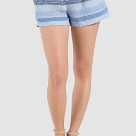 Bella Dahl Easy Flow Short- Shades of Blue