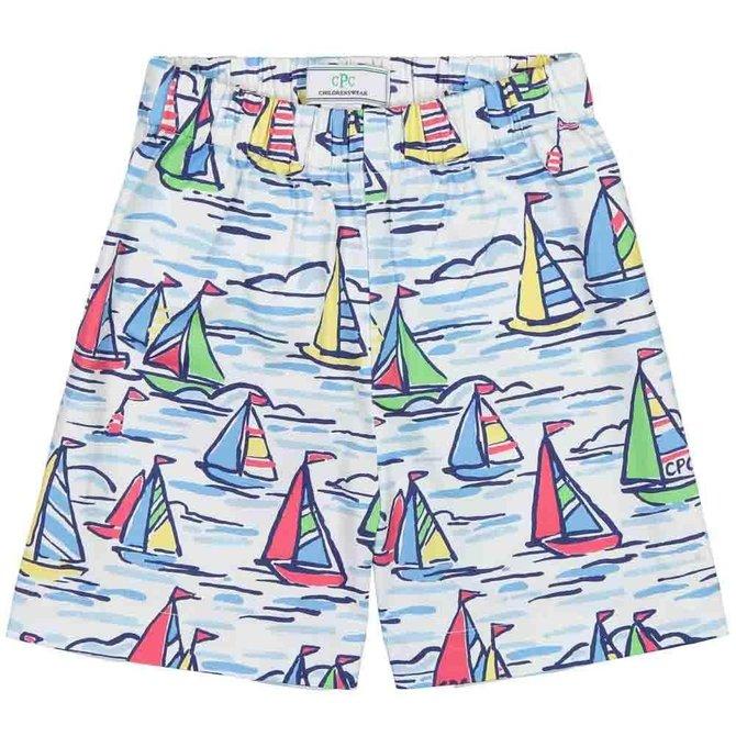 CPC Childrenswear Boys Short- Rainbow Fleet Print