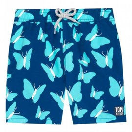 Tom and Teddy Swim Trunk Butterflies