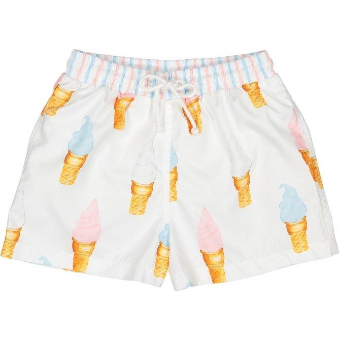 Sal and Pimenta Ice Cream Swim Trunks