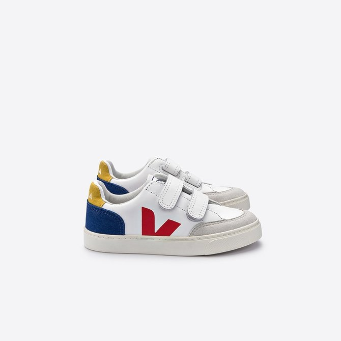 Veja Junior Sneaker Leather Multico Indigo