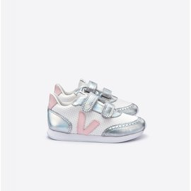 Veja Kid Sneaker Hexamesh Arctic Unicorn Petale