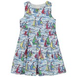 CPC Childrenswear New Arden Dress- Rainbow Fleet Print
