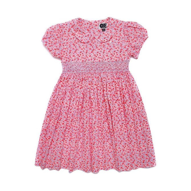 Question Everything Dianne Dress Pink Floral