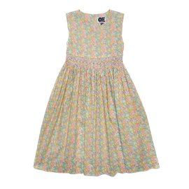 Question Everything Indira Dress Yellow Floral