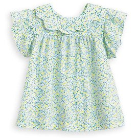 Bella Bliss Spring Toulouse Blouse - Limon
