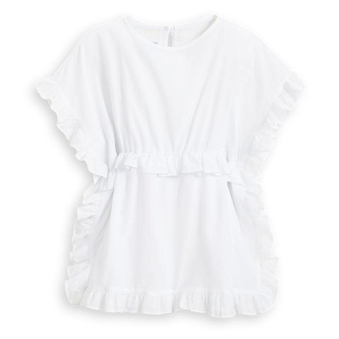 Bella Bliss Sandy Coverup White