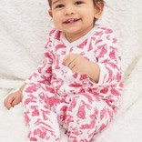 Roberta Roller Rabbit Infant Batik Bunny Footie Pajama