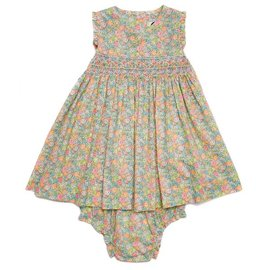Question Everything Winnie Yellow Floral Dress