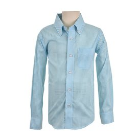 Eland Kids Longsleeve Performance Shirt Aqua