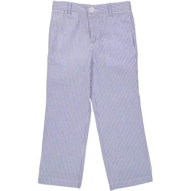 Eland Kids Blue Seersucker Pant