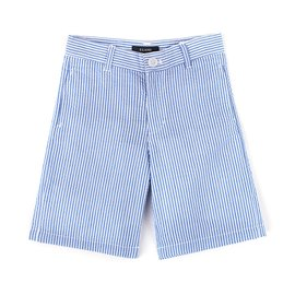 Seersucker Blue Short