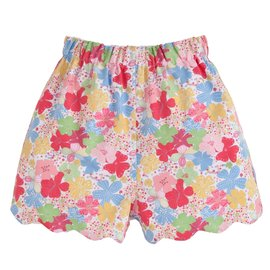 Little English Scallop Short- So Grande Floral