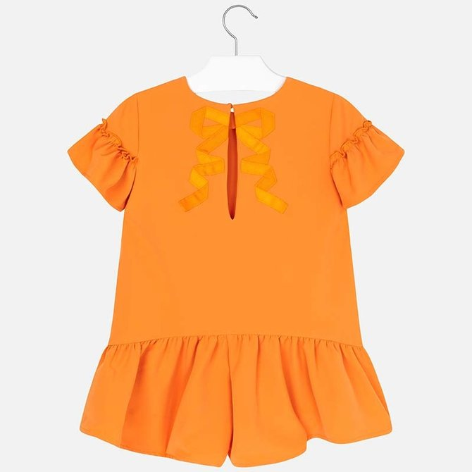 Mayoral Mayoral Girls Play Suit Tangerine
