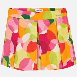 Mayoral Printed Shorts Coral