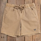 Southern Marsh Youth Hartwell Washed Shorts Khaki