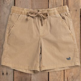 Southern Marsh Youth Hartwell Washed Shorts Khaki