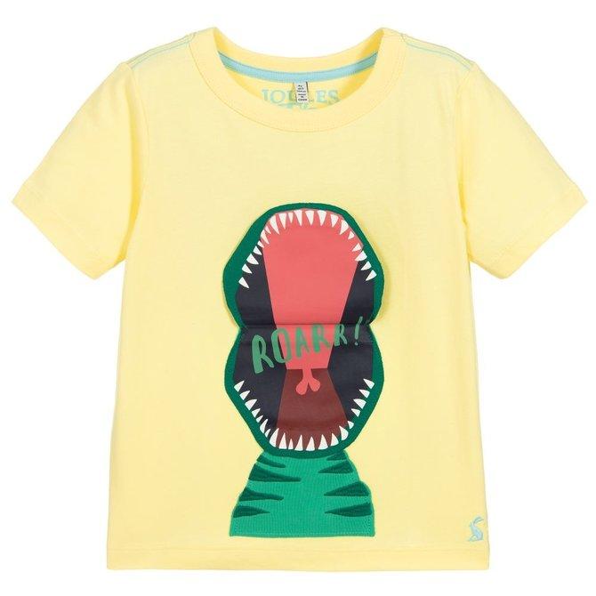 Joules Yellow Dino T-Shirt