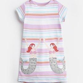 Joules Mermaid Applique Dress