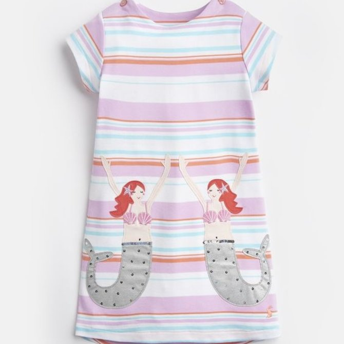 Joules Mermaid Applique Dress