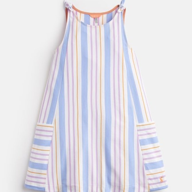 Joules Madeline Jersey Tie Dress