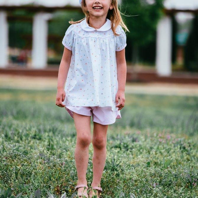 Petite Fleur Molly Short Set