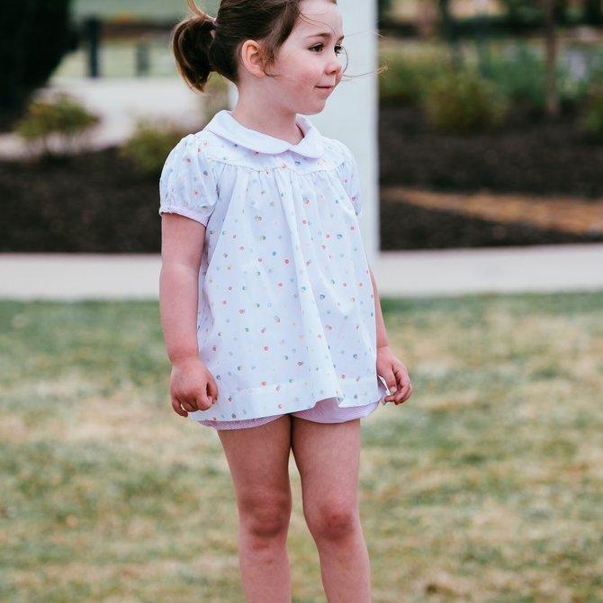 Petite Fleur Molly Bloomer Set