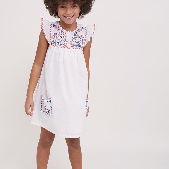 Roberta Roller Rabbit Girls Letty Dress White
