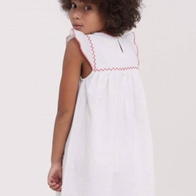 Roberta Roller Rabbit Girls Letty Dress White