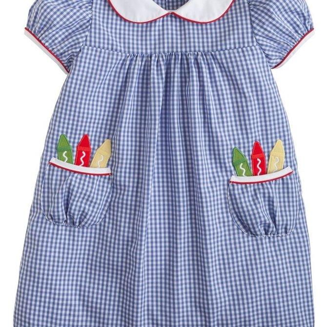 Little English Crayon Dun Dress