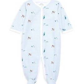 Roberta Roller Rabbit Infant Ripples Footie Pajama