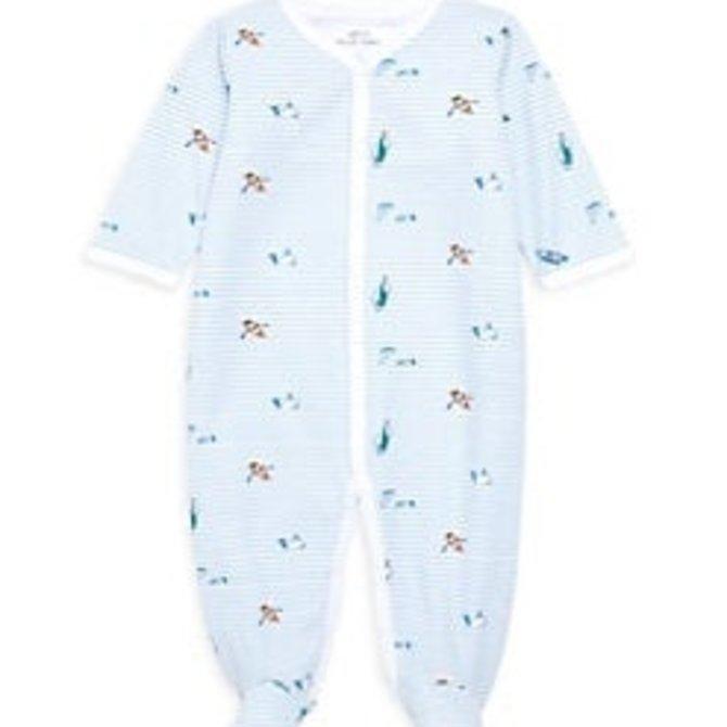 Roberta Roller Rabbit Infant Ripples Footie Pajama