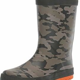 Joules Roll Up Welly Camo