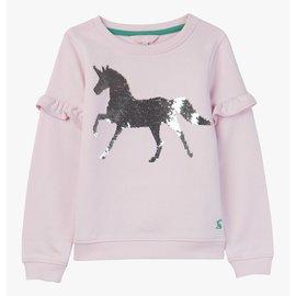Joules Pink Horse Sweatshirt