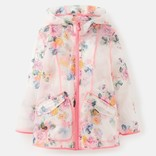 Joules Clear Floral Raincoat